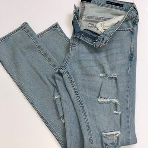 PACSUN Skinny Destroyed Jeans Size 31x32